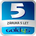 Goldys - záruka 5 let